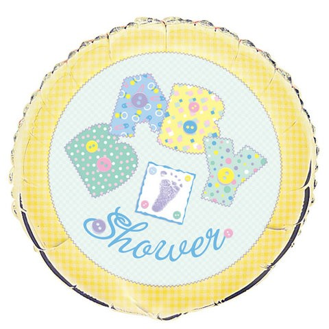 18in Baby Stitching Baby Shower Foil Balloon