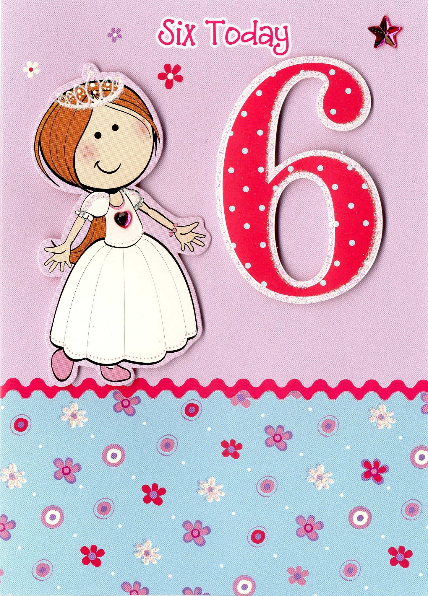 Girl 1 12 years Ages Birthdays Cards Cardella