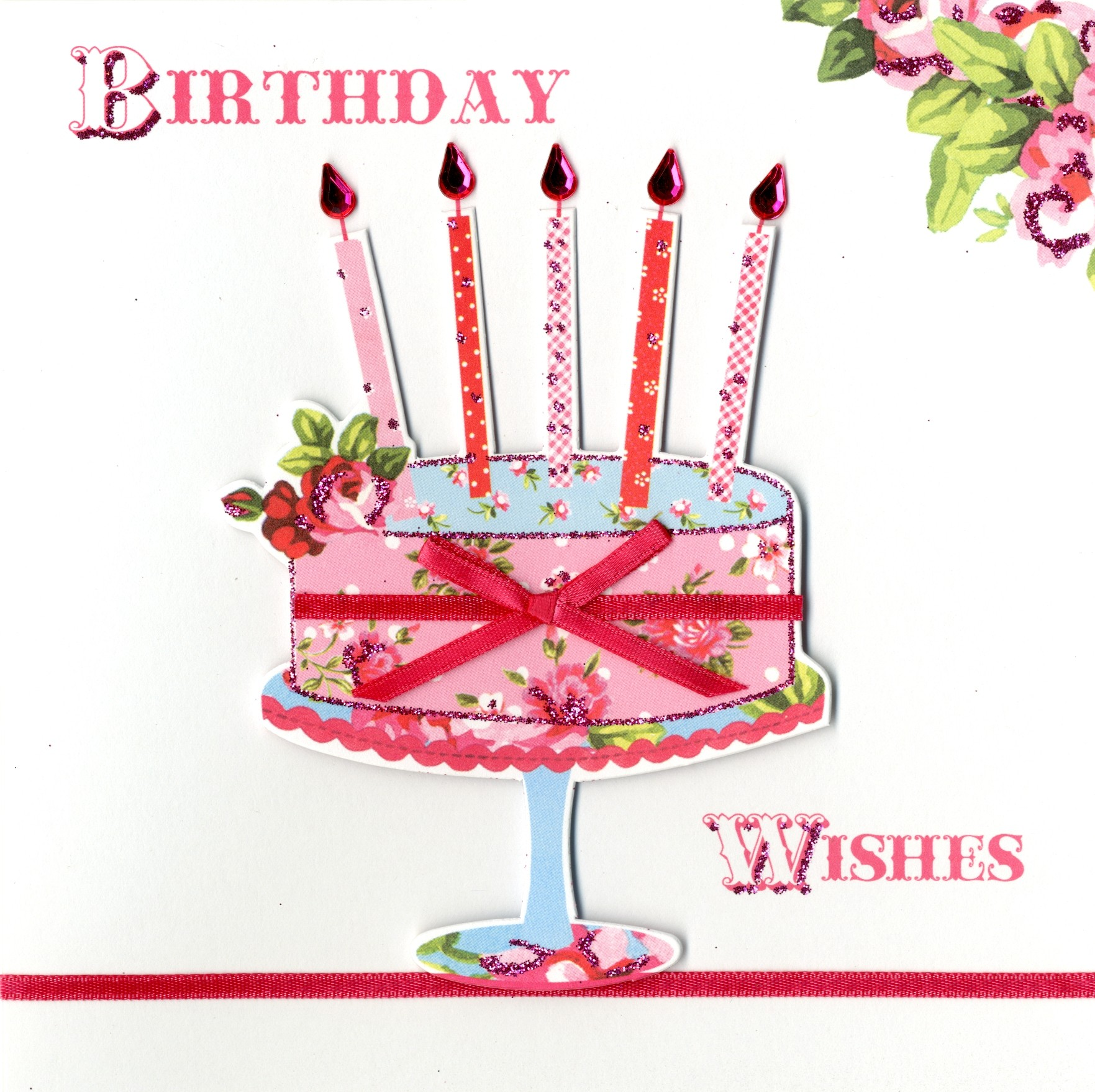 Birthday - 'Open - Cake With Candles' - SORRY OUT OF STOCK