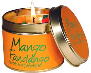 Lily Flame 'Mango Fandango' Scented Candle