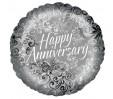 18in Happy Anniversary Foil Balloon
