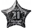 34in Black Number '2' Foil