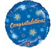18in Shooting Stars Congratulations  Foil