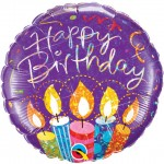 18in Birthday Party Candles Foil