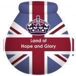 Pot of Dreams -Union Jack: 'Land of Hope & Glory' Money Pot