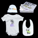 The Bright Side Baby Gift Set Tin - Lovely little bundle of baby