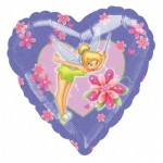 18in Tinkerbell Magic Heart Foil