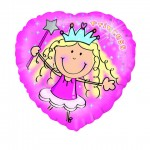 18in Princess Foil