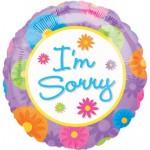 18in I'm Sorry Foil