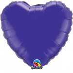 18in Quartz Purple Heart Foil