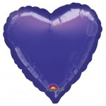 18in Purple Heart Foil
