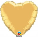 18in Gold Heart Foil