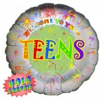 18in Welcome To Your Teens Foil