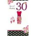 30th Birthday Card - 'Dress' - SORRY OUT OF STOCK