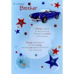 Brother - Happy Birthday 'Sports Car' - SORRY OUT OF STOCK