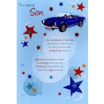Son - Happy Birthday  'Sports Car' - SORRY OUT OF STOCK