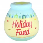 Pot of Dreams 'Holiday Fund' Money Pot