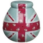Pot of Dreams - Union Jack Floral